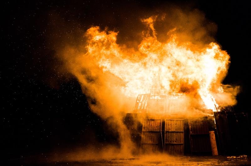 炎上のイメージ